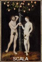 Cranach, Lucas the Elder (1472-1553) Adam and Eve