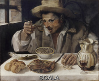 Carracci, Annibale (1560-1609) The Eater of Beans