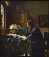 Vermeer, Jan (1632-1675) The Astronomer