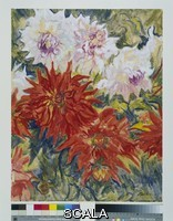 Epstein, Jacob (1880-1959) Dahlias. c.1936