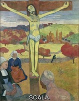 Gauguin, Paul (1848-1903) The Yellow Christ. 1889.