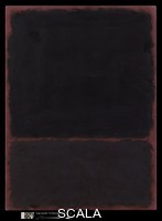 Rothko, Mark (1903-1970) Untitled, 1967. Acrylic on paper, mounted on Masonite, H. 29 7/8, W. 22 in. (75.9 x 55.9 cm). Gift of The Mark Rothko Foundation Inc., 1985 (1985.63.1). Photograph by Lynton Gardiner.
