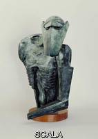 Epstein, Jacob (1880-1959) The Rock Drill, 1913-14 (cast 1962) - side view