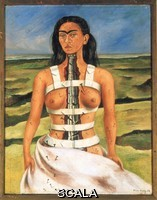 Kahlo, Frida (1907-1954) The Broken Column. 1944.