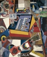 Souza-Cardoso, Amadeo de (1887-1918) Untitled (Cash Register), 1917