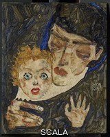 Schiele, Egon (1890-1918) Mother and Child II, 1912