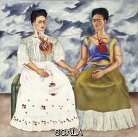 Kahlo, Frida (1907-1954) The two Fridas, 1939