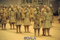******** Restored terracotta statues from Emperor Qin Shi Huang's tomb. Xi'an, Shaanxi Province, China.