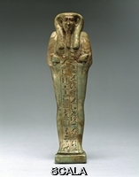 Egyptian art Shabti of the King's Scribe, Hor-Khebi. Egypt, Late dynasty, ca. 660 BCE