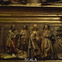 Fernandez, Gregorio (1576-1656) Detail Of The Altarpiece Of The Church Of San Miguel, Vitoria, Made By Gregorio Fernández Between 1624 And 1632.