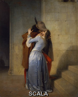 Hayez, Francesco (1791-1881) The Kiss. 1859