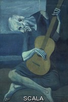 Picasso, Pablo (1881-1973) The Old Guitarist, late 1903-early 1904
