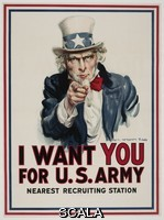 ******** James Montgomery Flagg. American, 1877-1960. I Want You For U.S. Army. 1917