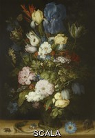 Savery, Roeland (1576-1639) A Bouquet of Flowers, the so-called Liechtenstein Bouquet, 1612