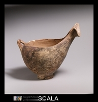 ******** Terracotta sauceboat. Early Helladic II period, ca. 2650-2150 B.C
