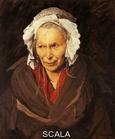 Gericault, Theodore (1791-1824) Mad woman with a mania of envy