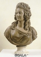 Pajou, Augustin (1730-1809) Bust of a young woman