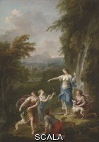 Zuccarelli, Francesco (1702-1788) Diana with her Companions and Hounds, 1765
