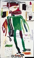 Basquiat, Jean-Michel (1960-1988) Because it Hurts the Lungs. 1986