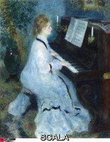 Renoir, Pierre Auguste (1841-1919) Woman at the Piano, 1875-1876