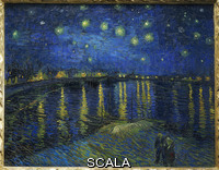 Gogh, Vincent van (1853-1890) Starry night. Arles, 1888