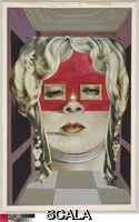 Dali', Salvador (1904-1989) Mae West's Face which May be Used as a Surrealist Apartment, 1934-35. Gouache with graphite, on commercially printed magazine page, 283 x 178 mm . Gift of Mrs. Charles B. Goodspeed, 1949.517.