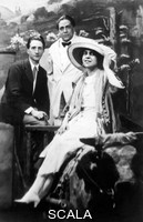 ******** Marcel Duchamp with Francis Picabia and Beatrice Wood, Coney Island, 1917