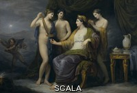 Appiani, Andrea (1754-1817) Juno bathing or Juno attired by the Graces,  oil on canvas, 100x142 cm.