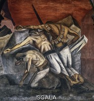 Orozco, Jose' Clemente (1883-1949) The Trench, 1926