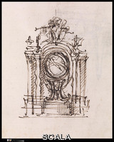 Juvarra, Filippo (1678-1736) Album of Drawings