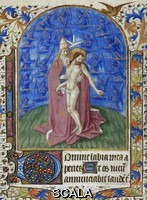 ******** The Trinity. HOR B. Mariae Virginis, etc. Mid 15th century . Add. 28785, f.58