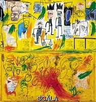 Basquiat, Jean-Michel (1960-1988) Sans titre (Yellow Tar and Feathers). 1982