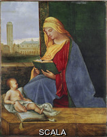 Giorgione (Barbarelli, Giorgio from Castelfranco 1477-1510) Madonna and Child
