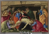 Botticelli, Sandro (1445-1510) Lamentation over the Dead Christ, c. 1495