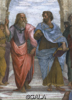 Raphael (1483-1520) School of Athens - detail (Plato and Aristotle)
