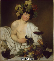 Caravaggio (Merisi, Michelangelo da 1571-1610) The Young Bacchus