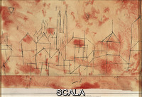 Klee, Paul (1879-1940) City with Gothic Cathedral