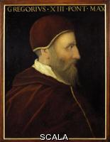 Altissimo, Cristofano dell' (c. 1525-1605) Portrait of Pope Gregory XIII