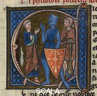 ******** Cleric, Knight and Workman. Sloane 2435, f.85