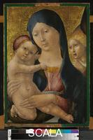 Liberale da Verona (c. 1445-c. 1526) Madonna and Child with an Angel