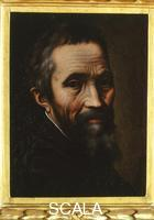 Venusti, Marcello (c. 1512-1579) Portrait of Michelangelo
