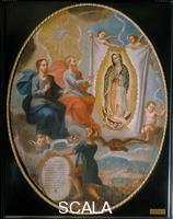 ******** Eternal Father painting the Virgin of Guadalupe