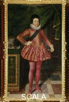Pourbus, Frans the Younger (c. 1570 -1622) Portrait of King Louis XIII of France at the Age of Ten