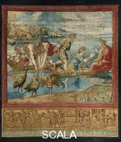 ******** Tapestries with Scenes from the Life of St. Peter and St. Paul, after Raphael's cartoon: The Miraculous Draft of Fishes