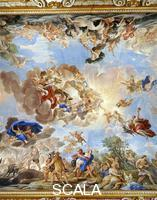 Giordano, Luca (1632-1705) Ceiling - d. (apotheosis of the Medici dynasty)
