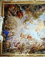 Giordano, Luca (1632-1705) Ceiling - d. (mithological scenes with animals)