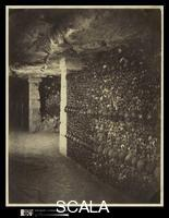 Nadar (Felix Tournachon, called, 1820-1910) Catacombs, Paris. April, 1862