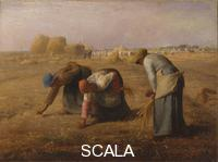 Millet, Jean Francois (1814-1875) The Gleaners