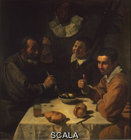 Velazquez, Diego (1599-1660) The Luncheon