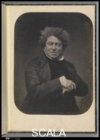 Nadar (Felix Tournachon, called, 1820-1910) Alexandre Dumas. November 1855